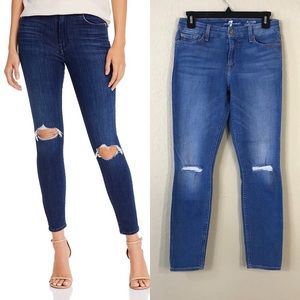 NWOT 7 For All Mankind The Ankle Skinny